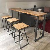 Для дома и интерьера handmade. Livemaster - original item Bar stool from elm. Handmade.