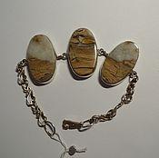 Украшения ручной работы. Ярмарка Мастеров - ручная работа Яшма калининская браслет. Handmade.