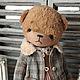 Мишки Тедди ручной работы. Ярмарка Мастеров - ручная работа. Купить Танюшка. Handmade. Мишка, тедди мишка, коллекционные медведи