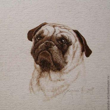 Картины и панно ручной работы. Ярмарка Мастеров - ручная работа Портреты собак по фотографии. Handmade.