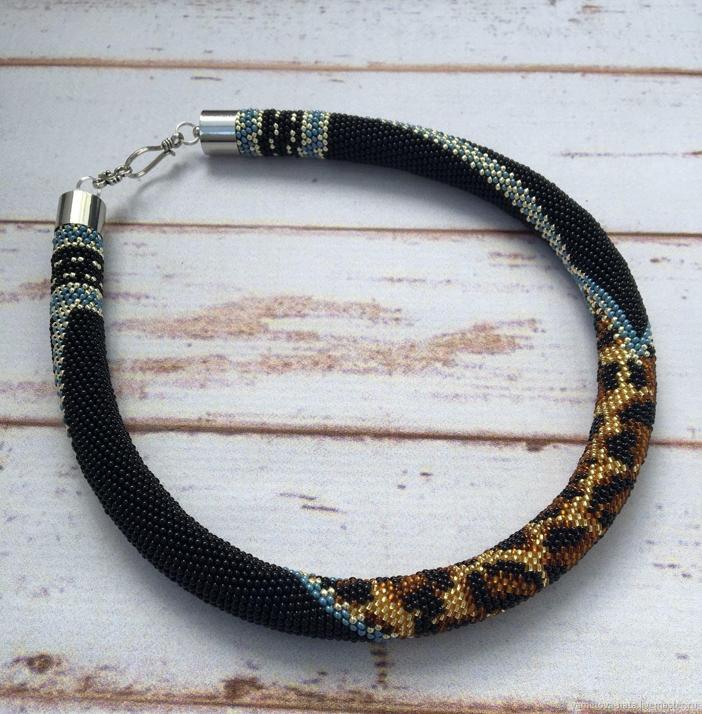 Leo-Lightning bead harness, Necklace, Abakan,  Фото №1