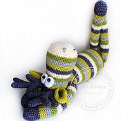 Куклы и игрушки ручной работы. Ярмарка Мастеров - ручная работа Зелёный) Лось. Вязаная игрушка. Handmade.