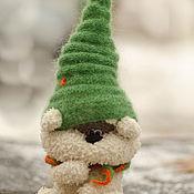 Куклы и игрушки ручной работы. Ярмарка Мастеров - ручная работа мишка Печенька. Handmade.