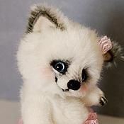 Куклы и игрушки ручной работы. Ярмарка Мастеров - ручная работа Веселый песец. Полярная лисица. Arctic fox. Handmade.