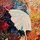 """Люди, ручной работы. Ярмарка Мастеров - ручная работа. Купить Картина """"Полет"""". Handmade. Балерина, танец, балет, полет, легкость"""