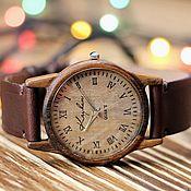 Украшения handmade. Livemaster - original item Wooden watches, women`s watches, walnut, 03A3530WW. Handmade.