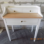Для дома и интерьера ручной работы. Ярмарка Мастеров - ручная работа Письменный стол-бюро с выдвижной столешницей (012). Handmade.