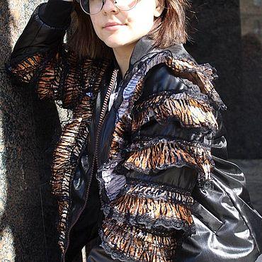 Одежда ручной работы. Ярмарка Мастеров - ручная работа Куртки:БОМБЕР. Handmade.