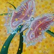 Картины ручной работы. Ярмарка Мастеров - ручная работа Бабочка изобилия.. Handmade.