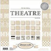 Бумага ручной работы. Ярмарка Мастеров - ручная работа Набор бумаги 30х30 - The Ritz Theatre - ULTIMATE CRAFTS. Handmade.