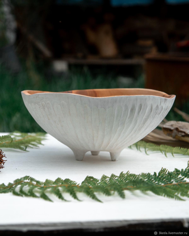 Деревянная чаша БелыйПлатан, Салатники, Сочи,  Фото №1