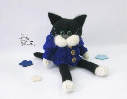 """Обучающие материалы ручной работы. Ярмарка Мастеров - ручная работа. Купить Мастер - класс """"Кот в пальто"""". Handmade. МК, котенок"""