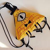Рюкзаки ручной работы. Ярмарка Мастеров - ручная работа Билл Шифр рюкзачок. Handmade.