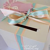 Свадебный салон ручной работы. Ярмарка Мастеров - ручная работа Свадебная коробка -казна New. Handmade.