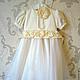 Одежда для девочек, ручной работы. Ярмарка Мастеров - ручная работа. Купить Праздничное платье для девочки. Handmade. Однотонный, белый
