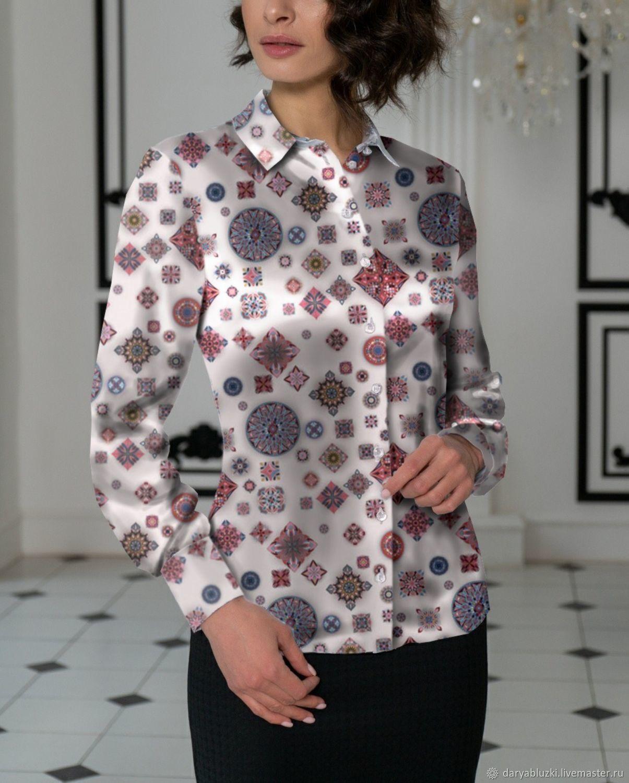 d62d48a3d30 Ярмарка Мастеров - ручная работа. Купить Шелковая блузка  Этника  Блузки  ручной работы. Шелковая блузка  Этника . Одежда из шелка - Дарья К