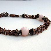 """Украшения handmade. Livemaster - original item Copper bracelet """"Shuga"""". Handmade."""