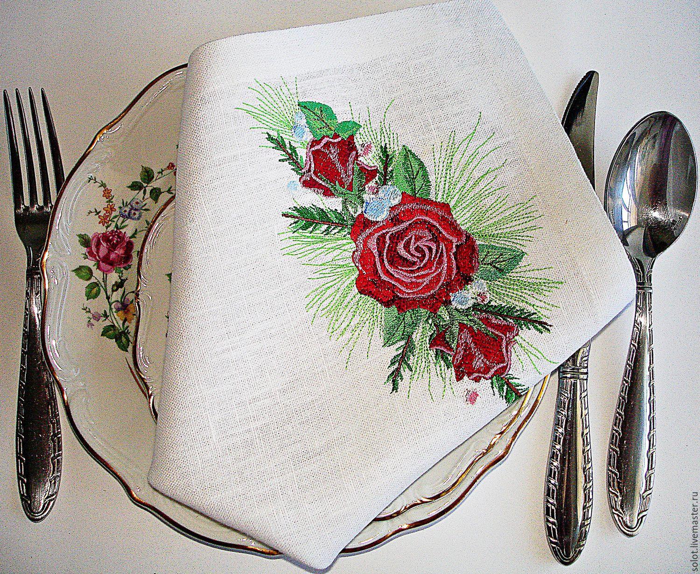Картинки вышивка салфетки