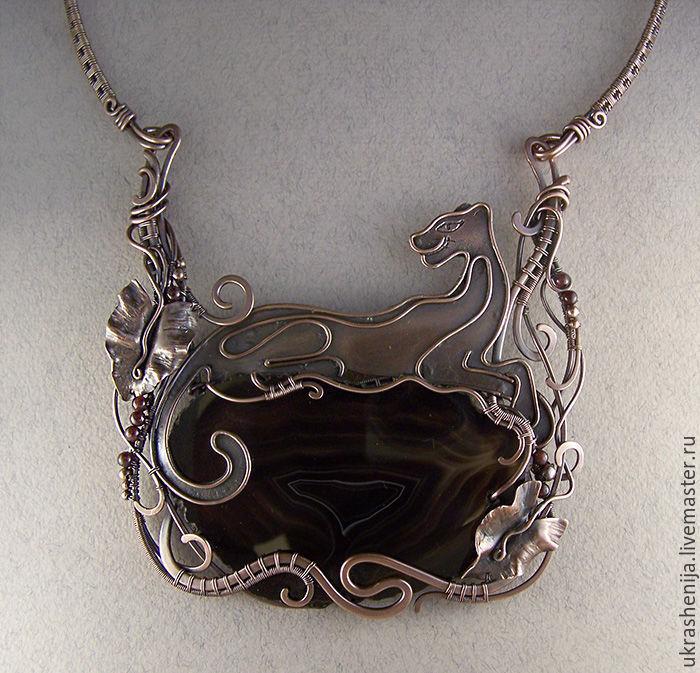 necklace 'Bagira', Necklace, Vladimir,  Фото №1