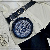 Сумки и аксессуары handmade. Livemaster - original item Waist denim bag