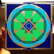 Фен-шуй и эзотерика handmade. Livemaster - original item Saturn`s Yantra. Handmade.