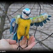 Куклы и игрушки handmade. Livemaster - original item Bird Tit Soft Sculpture, handmade Toy OOAK. Handmade.