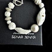 "Украшения handmade. Livemaster - original item Copy of Bracelet from the set ""The Taiga Sun"". Handmade."