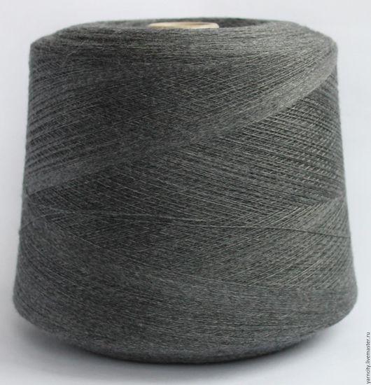 Вязание ручной работы. Ярмарка Мастеров - ручная работа. Купить 100% Меринос экстрафайн. Handmade. Серый, пряжа, пряжа для вязания