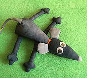 Куклы и игрушки ручной работы. Ярмарка Мастеров - ручная работа Мышка-нарушка. Handmade.