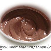 """Косметика ручной работы. Ярмарка Мастеров - ручная работа Крем для тела """"Шоколад"""". Handmade."""