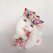 Куклы и игрушки handmade. Livemaster - original item Teddy Bunny. Handmade.