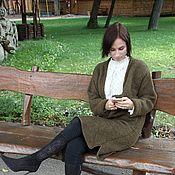 """Одежда ручной работы. Ярмарка Мастеров - ручная работа Кардиган - пальто """"Девоншир"""", вязаное пальто.. Handmade."""