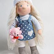 Вальдорфские куклы и звери ручной работы. Ярмарка Мастеров - ручная работа Вальдорфская текстильная кукла Марта. Handmade.