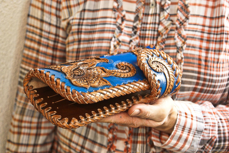 Women's Leather wallet 'Favorite flower' color, Wallets, Krasnodar,  Фото №1