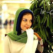 """Аксессуары ручной работы. Ярмарка Мастеров - ручная работа Шарф-капюшон """"Карелия"""". Handmade."""