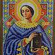 Икона бисером. Святая мученица Анастасия.