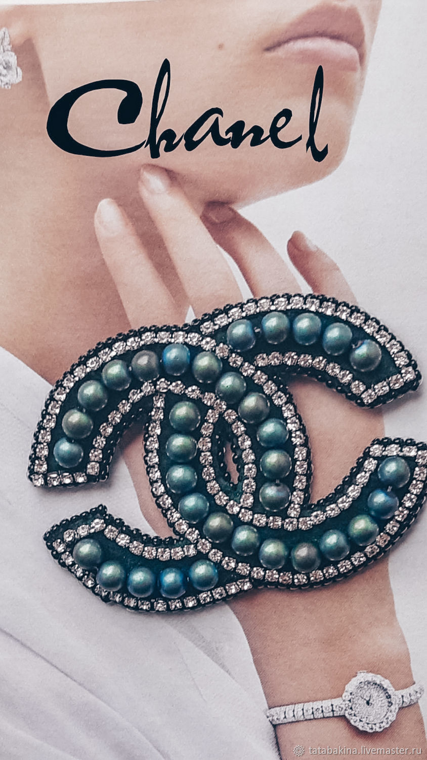 brooches: My Chanel Brooch, Brooches, Kolomna,  Фото №1