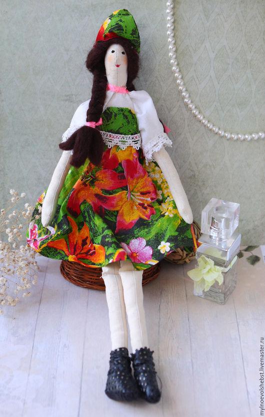 """Куклы Тильды ручной работы. Ярмарка Мастеров - ручная работа. Купить Интерьерная кукла """"Элен"""". Handmade. Интерьерная кукла, сувенир"""