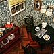 """Кукольный дом ручной работы. Румбокс """"Французская кофейня"""". Миленькие штучки (chasovschik). Ярмарка Мастеров. Французская кофейня, пластмасса"""