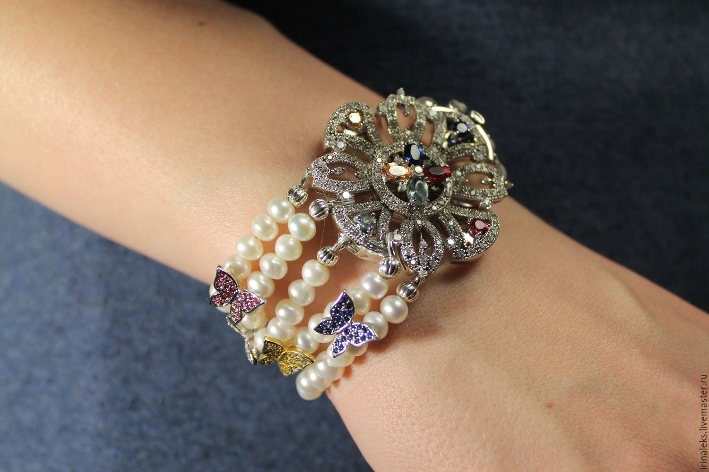 Bracelet 'Dazzling', Bead bracelet, Nizhny Novgorod,  Фото №1