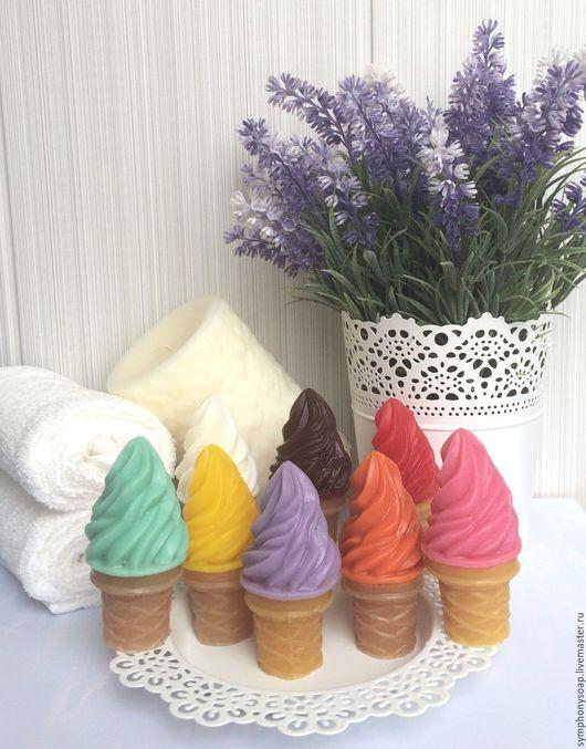 """Мыло ручной работы. Ярмарка Мастеров - ручная работа. Купить Мыло ручной работы """"Мороженое"""" в ассортименте. Handmade. Комбинированный"""