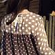 """Платья ручной работы. Платье из штапеля """"Озорная девчонка"""". Art. 1075. Natalyastrelka. Ярмарка Мастеров. Повседневное платье, кружево"""