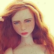 Куклы и игрушки ручной работы. Ярмарка Мастеров - ручная работа Авторская шарнирная кукла Аделаида. Handmade.