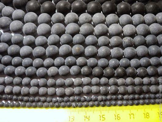 Для украшений ручной работы. Ярмарка Мастеров - ручная работа. Купить Шунгитовый сланец 4,6,8,10,12,14мм.. Handmade.
