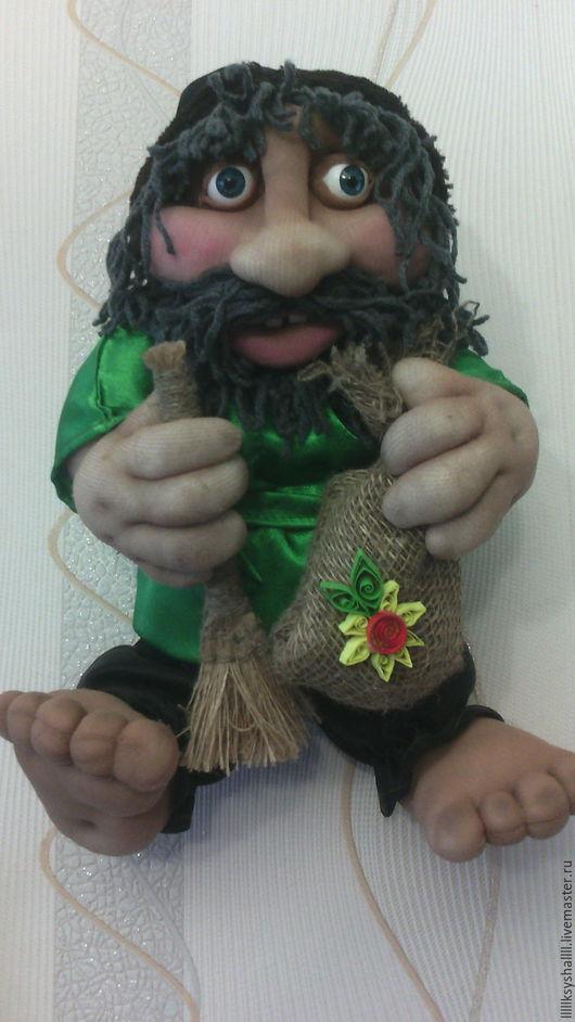 Коллекционные куклы ручной работы. Ярмарка Мастеров - ручная работа. Купить домовой ОБЕРЕГ. Handmade. Оберег, капрон