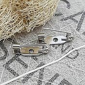 Материалы для творчества handmade. Livemaster - original item Brooch pin 15 mm Japan (3783-S). Handmade.