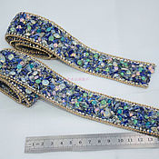 Материалы для творчества handmade. Livemaster - original item Luxury finish studded with stones and crystals, Opal. Handmade.