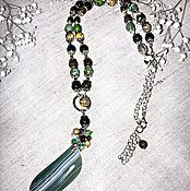 Necklace handmade. Livemaster - original item With pendant