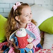"""Куклы и игрушки ручной работы. Ярмарка Мастеров - ручная работа Зайка """"Любимка"""". Handmade."""