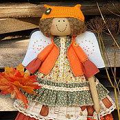 Куклы и игрушки ручной работы. Ярмарка Мастеров - ручная работа Рыжая осень. Фея осенних листочков. Ароматизированная кукла.. Handmade.